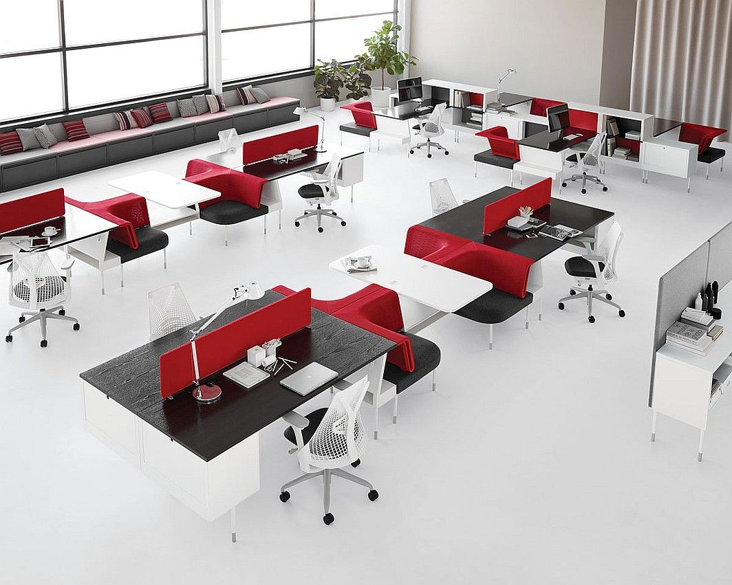 The New Office Landscape 5 Products For Social Spaces Open Office Furniture Office Interiors Office Layout
