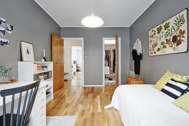 Habitaciones juveniles de estilo n rdico decoracion for Adornos habitacion juvenil
