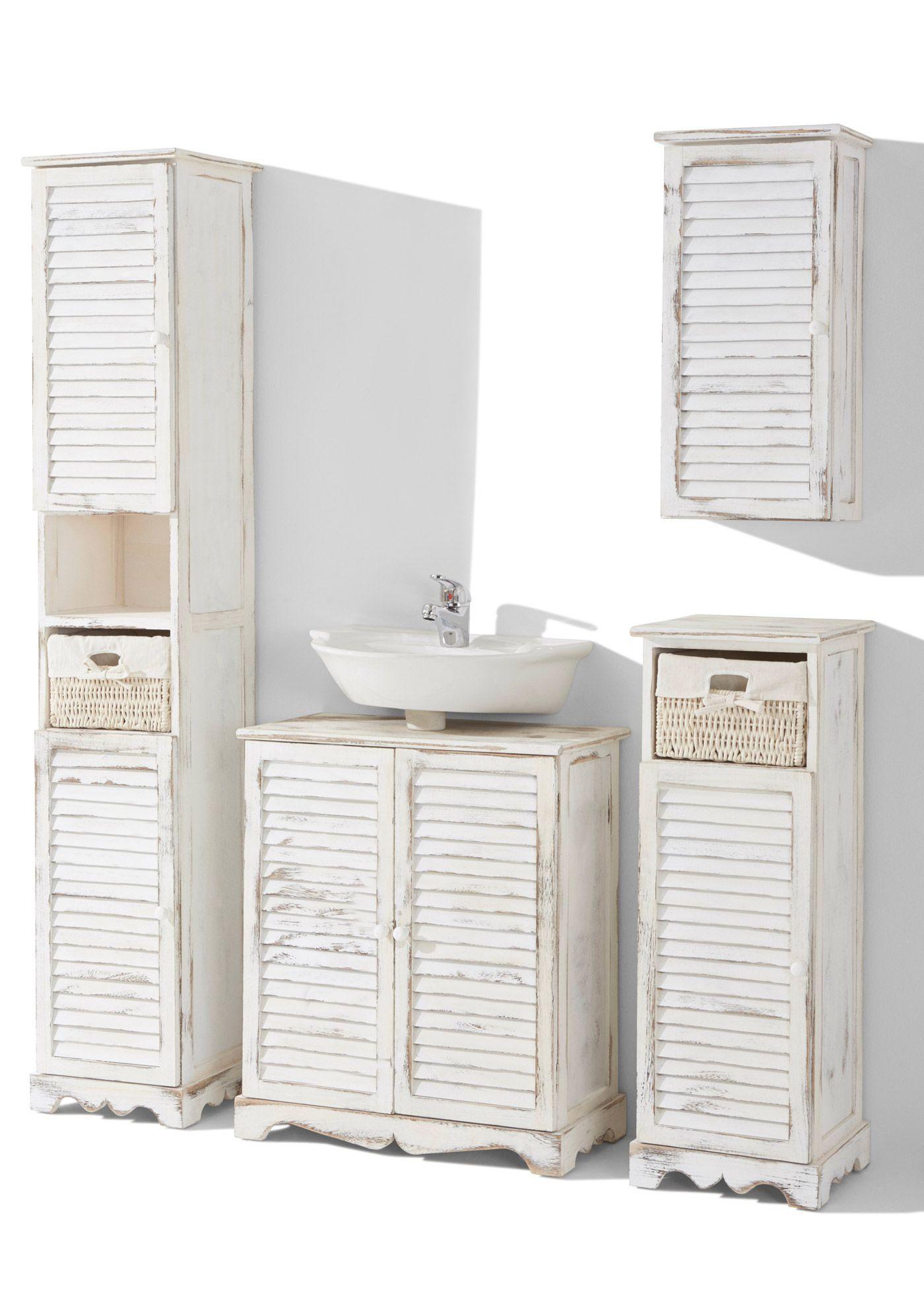 Waschbeckenunterschrank Torsten Waschbeckenunterschrank Badezimmer Hochschrank Schrank
