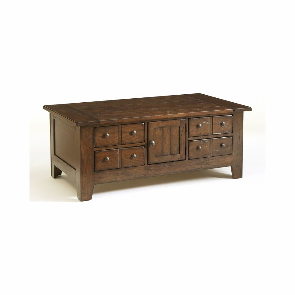 Broyhill - Attic Rustic Apothecary Cocktail Table | Living room furniture collections, Furniture ...