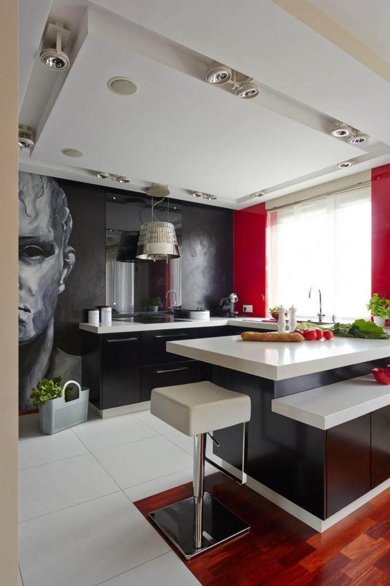 Haus Dekor 65 Ideen von Akzenten und Details in rot | Haus