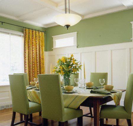 Decoracion de interiores verde cocina pinterest for Decoracion hogar verde