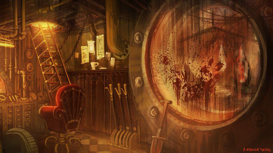 Amnesia The Dark Descent Concept Art