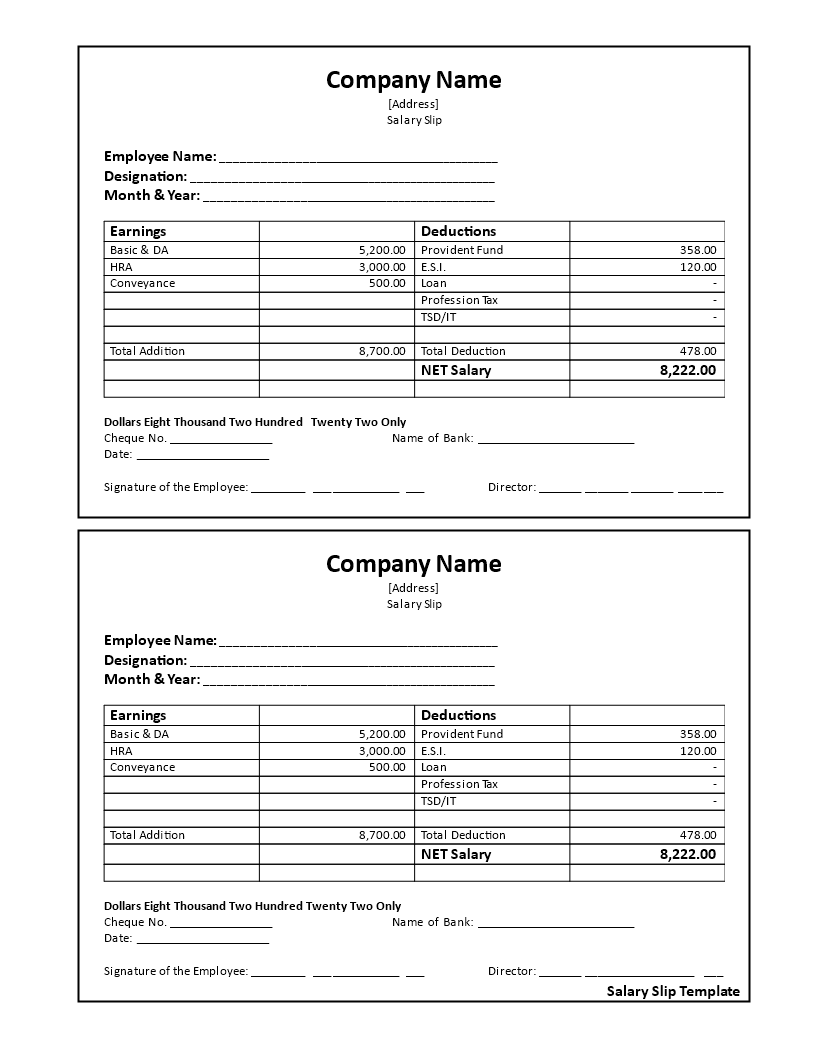 Salary Receipt Voucher How To Create A Salary Receipt Voucher Download This Salary Receipt Voucher Template Now Salary Profit And Loss Statement Templates
