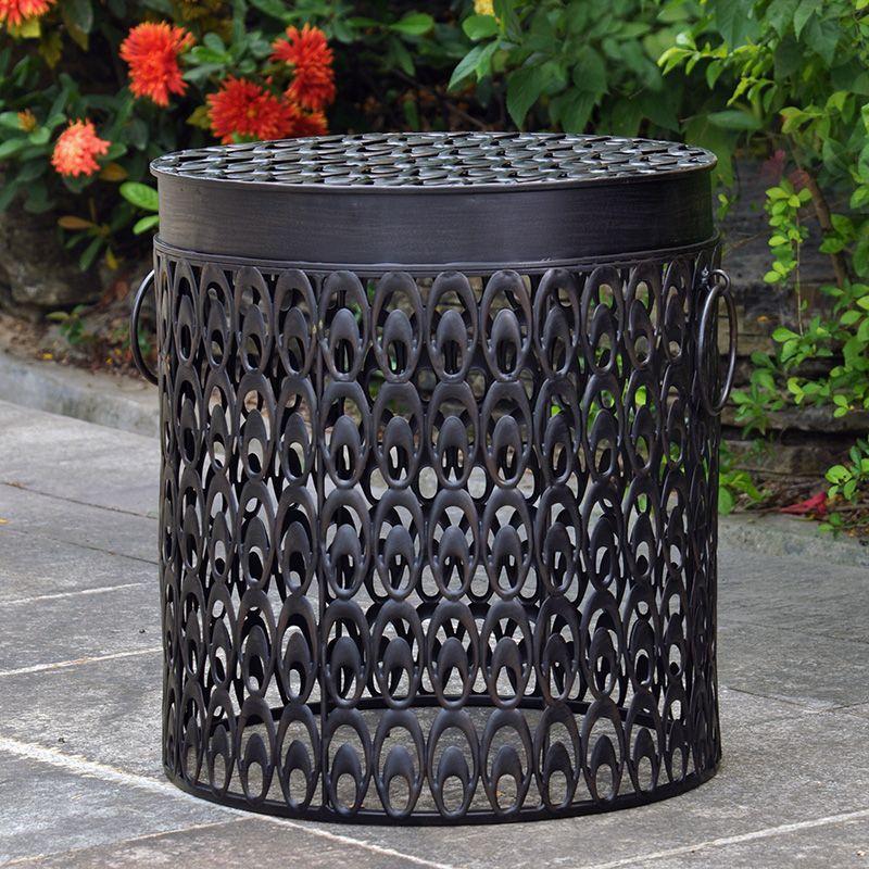 Costco Mexico - Style Craft, mesa de metal con anillos
