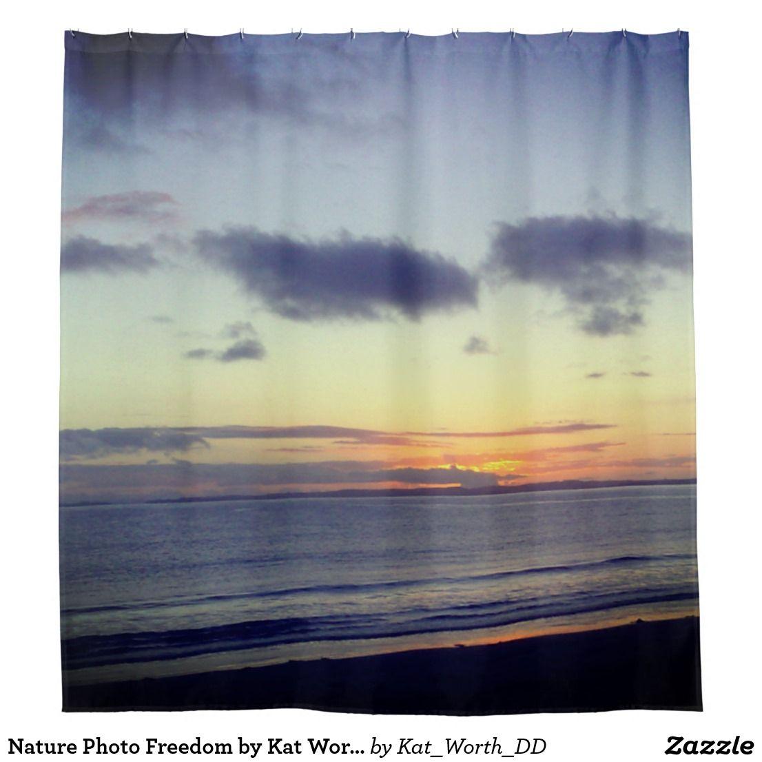 Nature photo freedom by kat worth shower curtain naturephotography