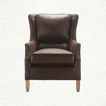 Exceptionnel Cabin · View The Alex Leather U0026 Fabric Chair From Arhaus.