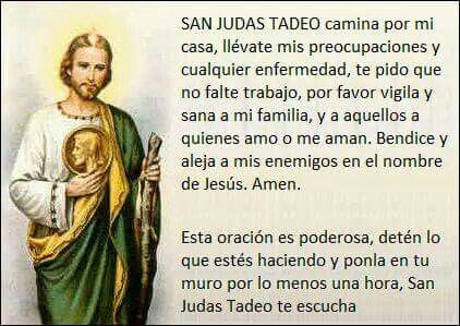 San Judas Tadeo Like It Pinterest Prayers God And God Jesus