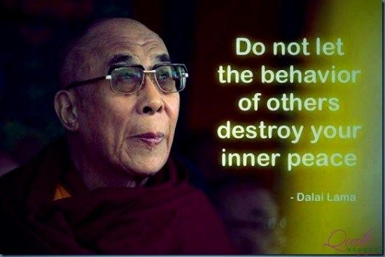 Dalai Lama Quotes On Life, Success And Inspiration.. Find More At Www.