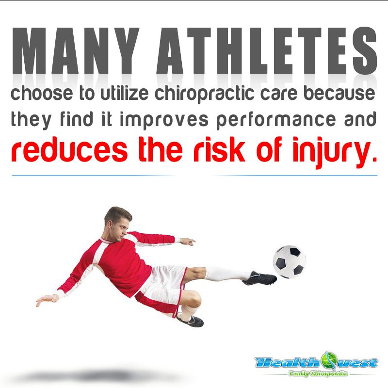 why chiropractic for athletes?