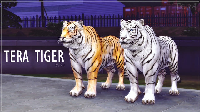 Sims 4 CC's The Best Tiger Update by Ryan Jayden Sims