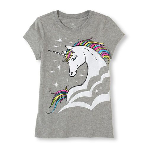 A unicorn is just what she needs for unique style!