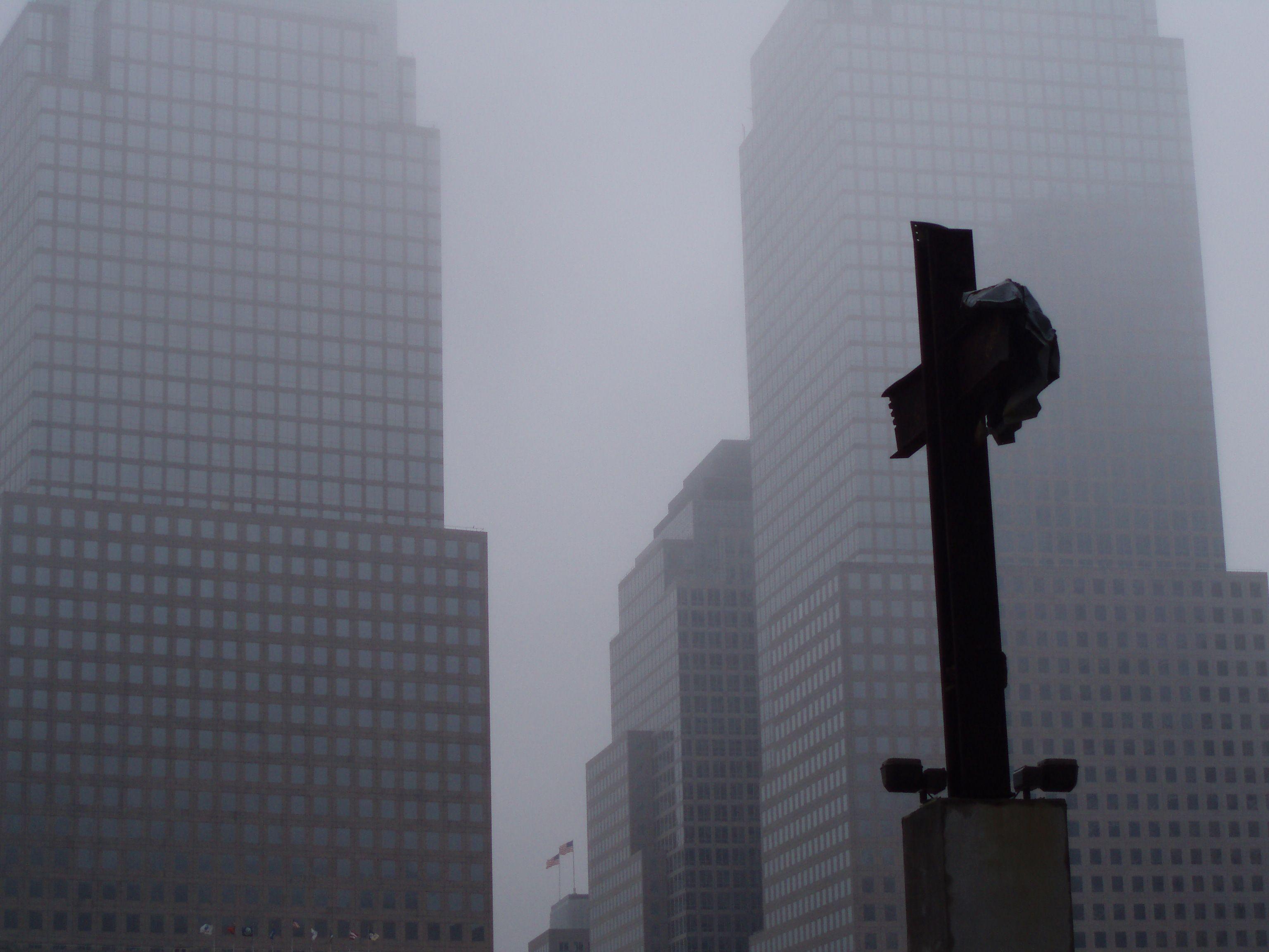 Cross, Ground Zero NYC ph volvidejapon #groundzeronyc Cross, Ground Zero NYC ph volvidejapon #groundzeronyc