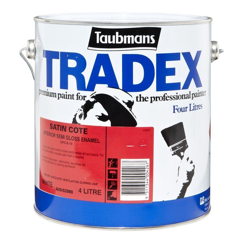 Taubmans Trade Pro 4l White Flat Interior Ceiling Paint: Taubmans Ceiling Paint Bunnings