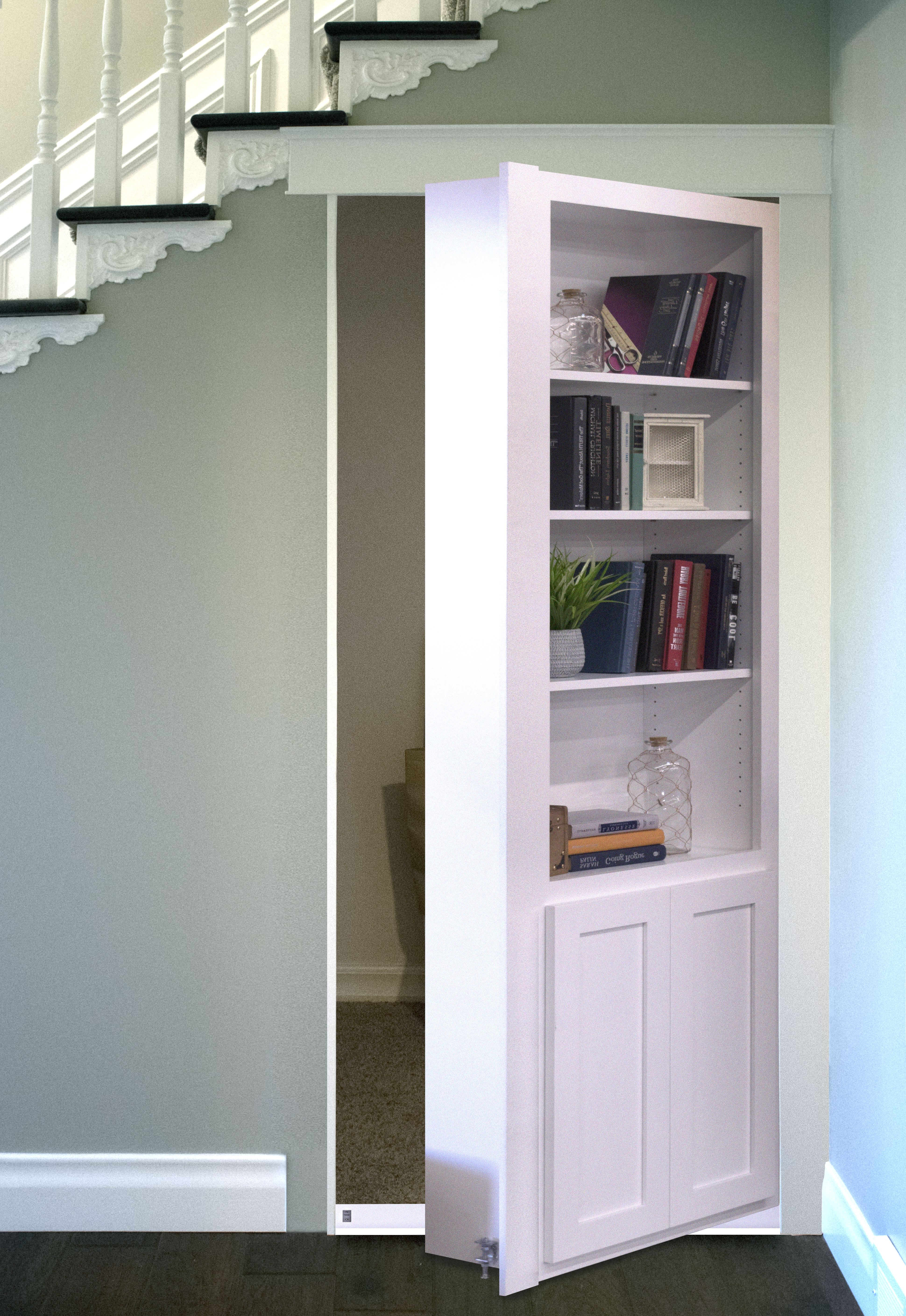 Great Place For A Hidden Door What S Under Your Stairs Room