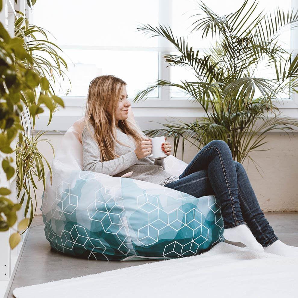 Amazing Kennt Ihr Schon Unsere Superbequemen Sitzsacke Perfekt Fur Gmtry Best Dining Table And Chair Ideas Images Gmtryco