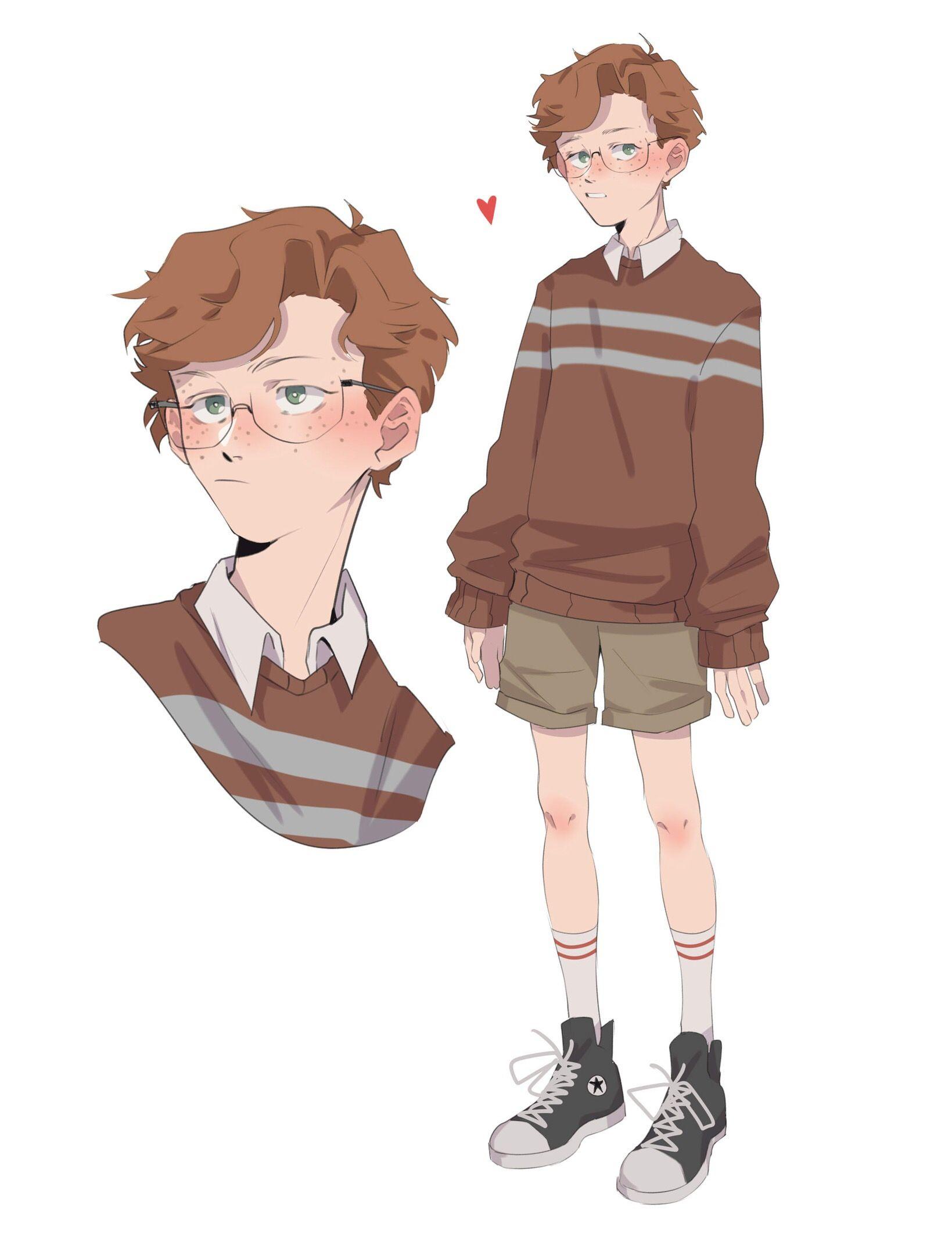 Shaya Has Lots Of Siblings Boy Art Character Design Character Art