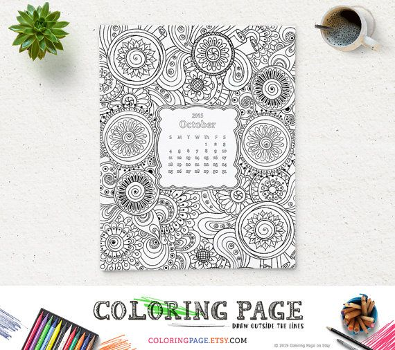 Printable Adult Coloring Pages Instant Download Printable Quote