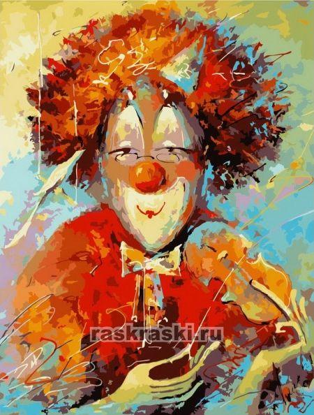 Раскраска по номерам Белоснежка «Маэстро» (холст, 30х40 см ...