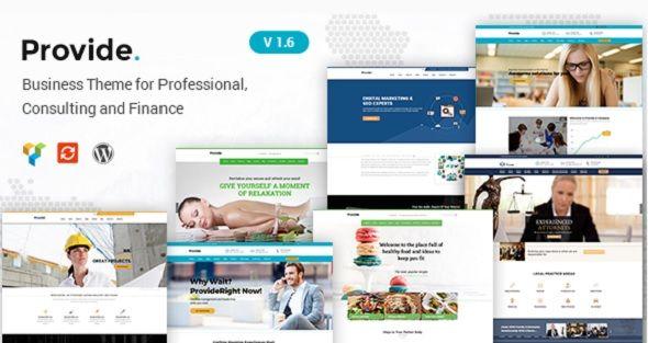100+ Premium WordPress Corporate Business Themes of 2018   Corporate ...