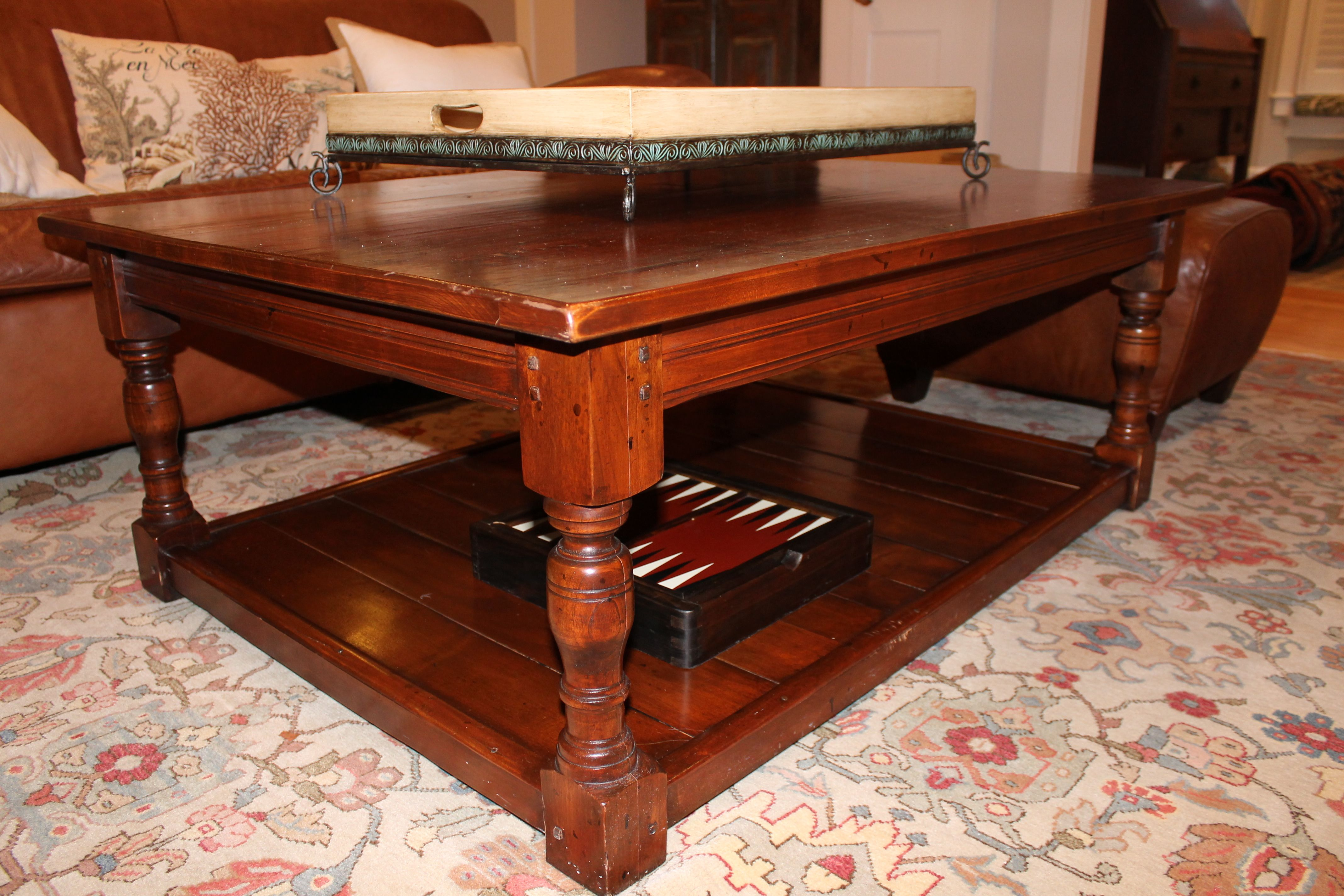 Images about old barn wood furniture on pinterest - Custom Coffee Table From Reclaimed Old Barn Wood Ecustomfinishes Com