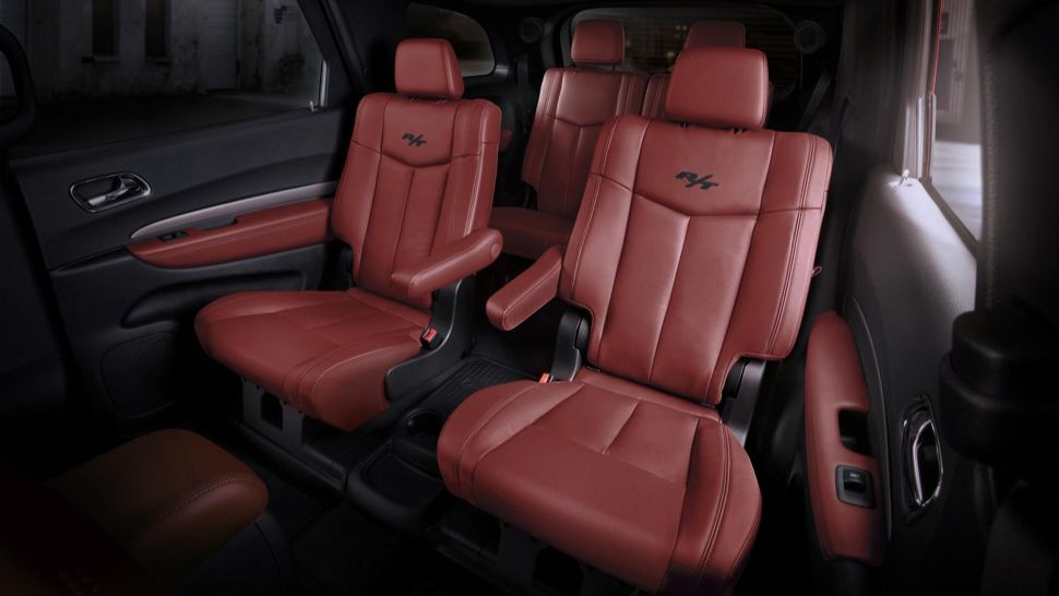 2015 Dodge Durango Looks Awesome With The Challenger S Red Interior In 2020 Dodge Durango Dodge Dodge Durango Interior
