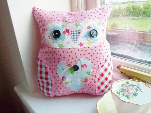 Small Sewing Projects Christmas Gift Ideas Handmade Gifts For Kids Cute Owl Pillow