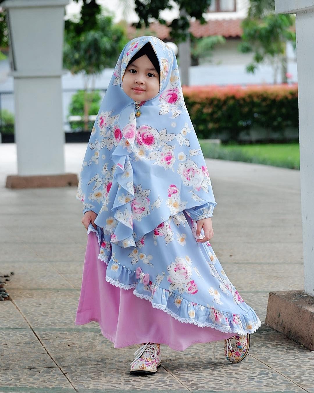 Model Gamis Anak Terbaru  Pakaian bayi perempuan, Model pakaian