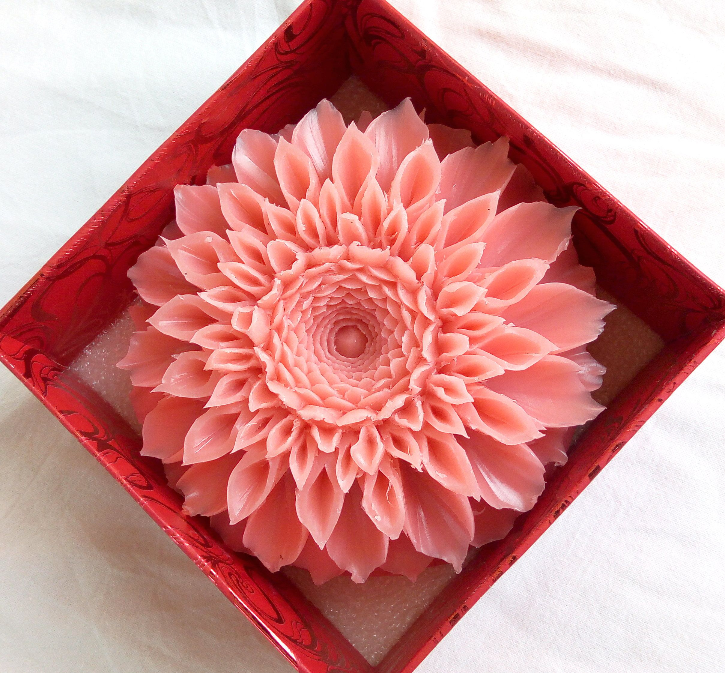Soap carving video tutorial soap carving flower chrysanthemum