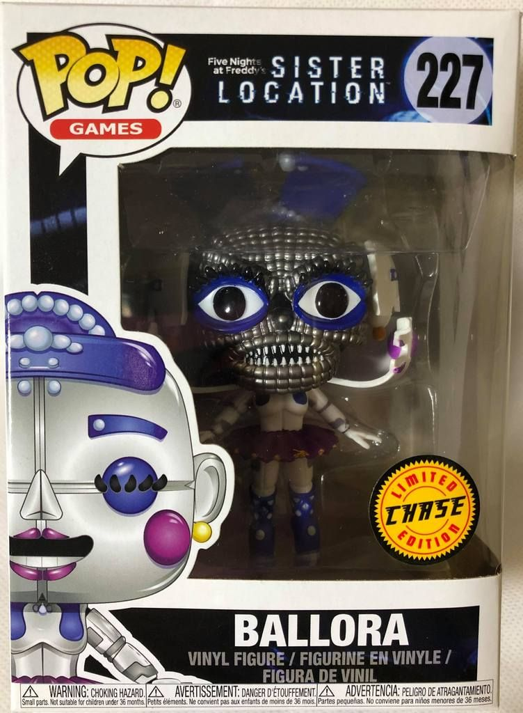 Funko Pop Five nights at Freddys Ballora #227 Vinyl Action Collectible toy