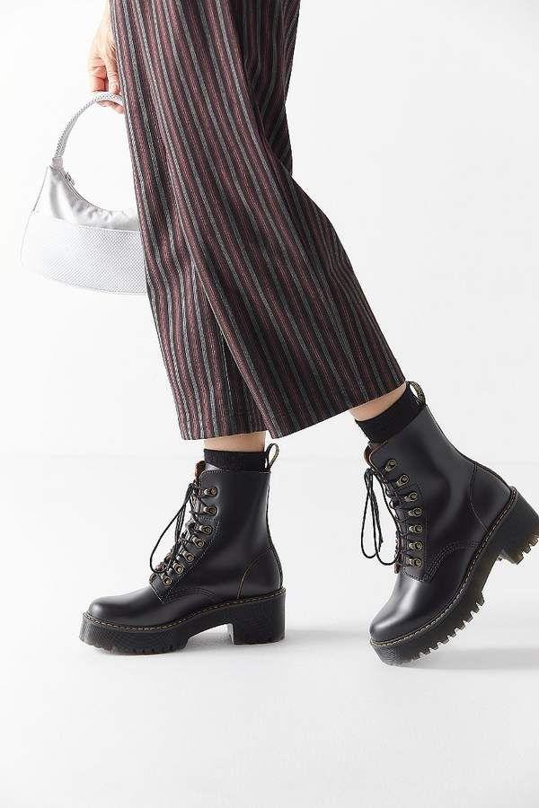 3c04fb13c Dr. Martens Leona Vintage Smooth Boot