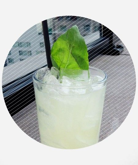Drink DuJour: The Empire State – A summer drink with flavors of muddled cucumbers, basil and spice from the ginger—all on a gin base —to offer a crisp white-spirit offering. Head to DuJour.com for the full recipe.
