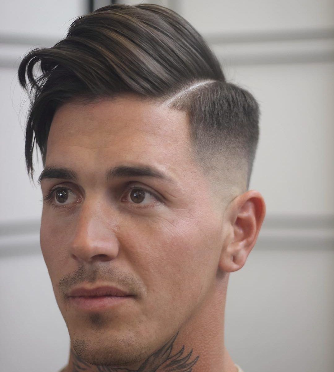 Guy Hairstyles Medium Length Hairstyles Mens With 10 Photo Gallery  Guy