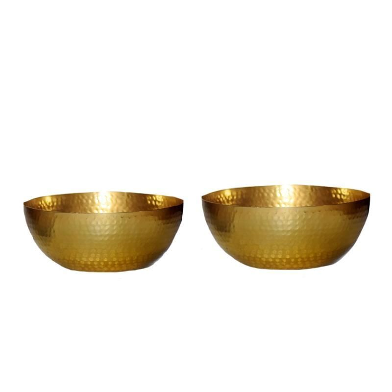 Photo of Perfect For Entertaining-Gold Finish Bowls-Set of 2 #15445