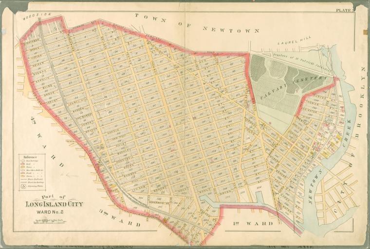 Atlas of Queens Co., Long Island, New York [1891]