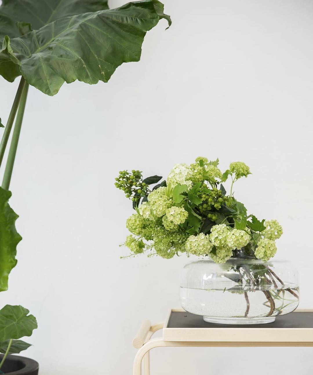 Ihanaa vihreyttä Marimekko Homessa Milanossa. @marimekkodesignhouse @carinasethandersson #urna #raparperinalla #artek #vihreä #kukkakimppu #sisustus #interiors #interiordecor #interiordecoration
