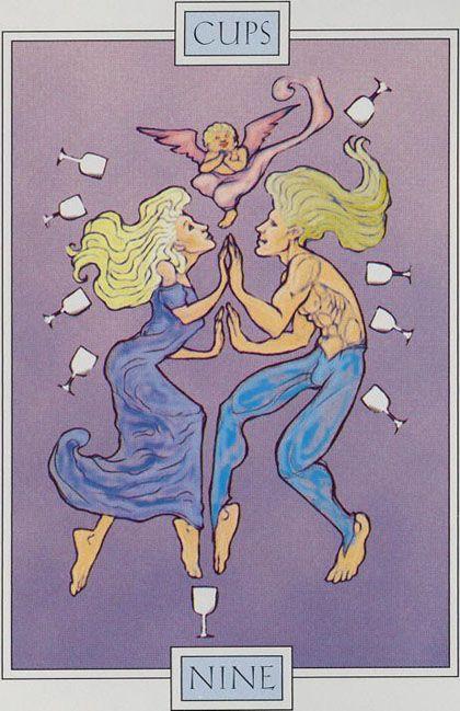 9 of Cups  - Winged Spirit Tarot