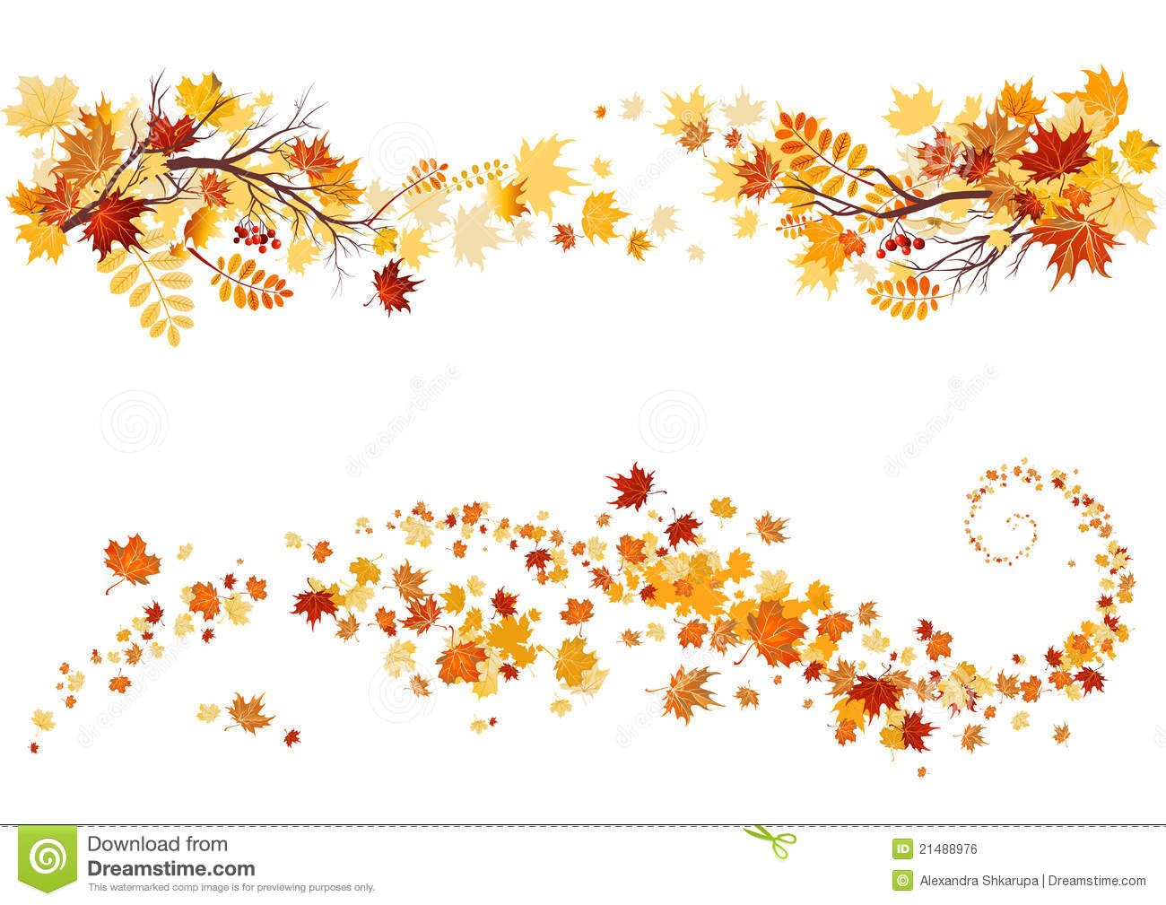 Autumn Leaves Border - Download From Over 64 Million High Quality Stock  Photos, Images,