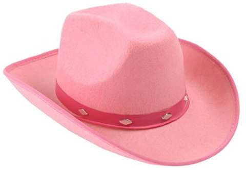 Pink Studded Felt Cowboy Hat Pink Cowgirl Hat Trendingtoystore Com Cowboy Hats Cowgirl Hats Felt Cowboy Hats