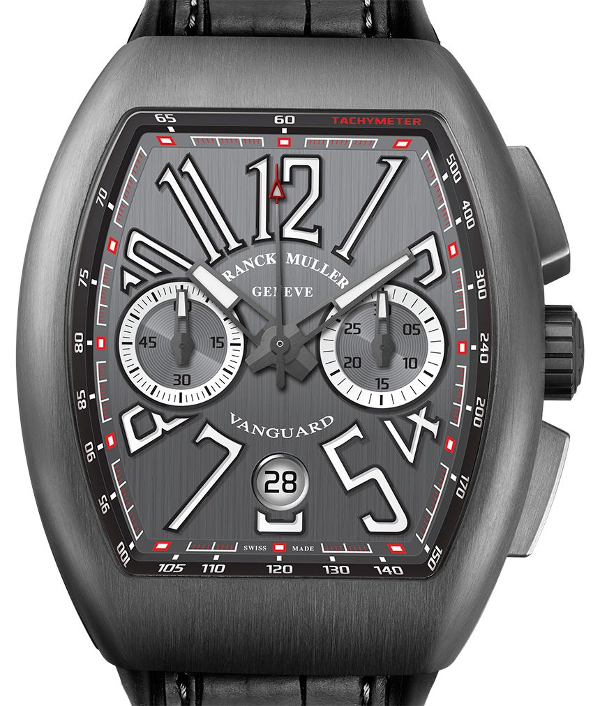 7a63b96bc7a Franck Muller Vanguard Chronograph Watch - by Jack Wagner - This  chronograph is available in either