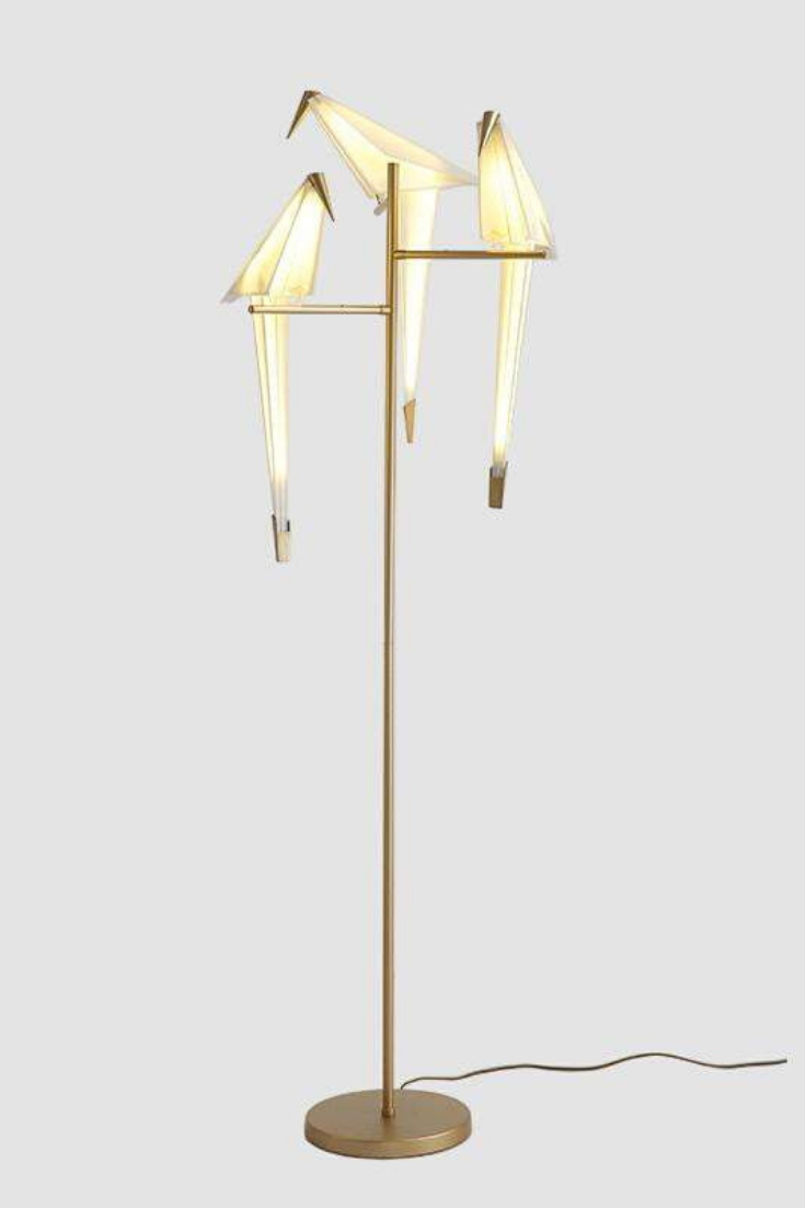 Edie Birds Lamp Mood Lighting Living Room Floor Lamp Styles Geometric Table Lamp