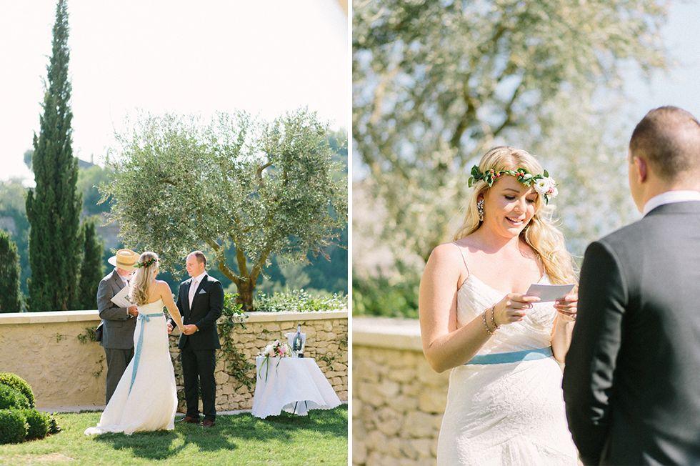 wedding and elopement photographer in Gordes | La Bastide de Gordes