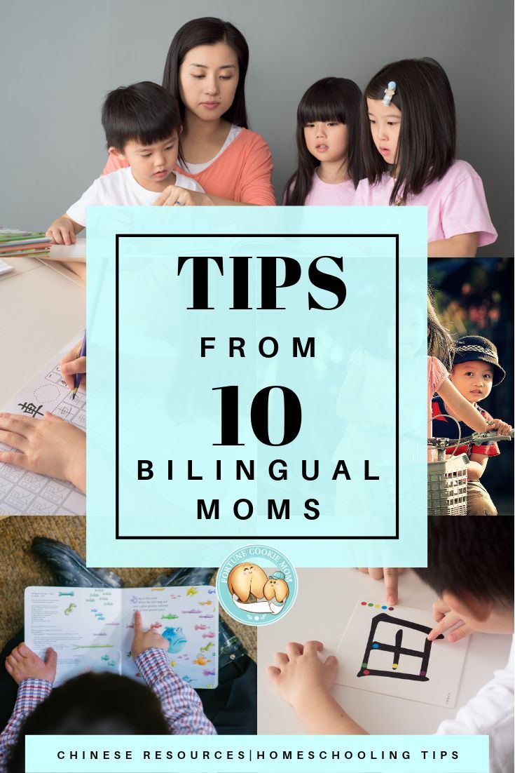 10 Tips from the Experienced Bilingual Moms (Bonus Post!) - Fortune Cookie Mom