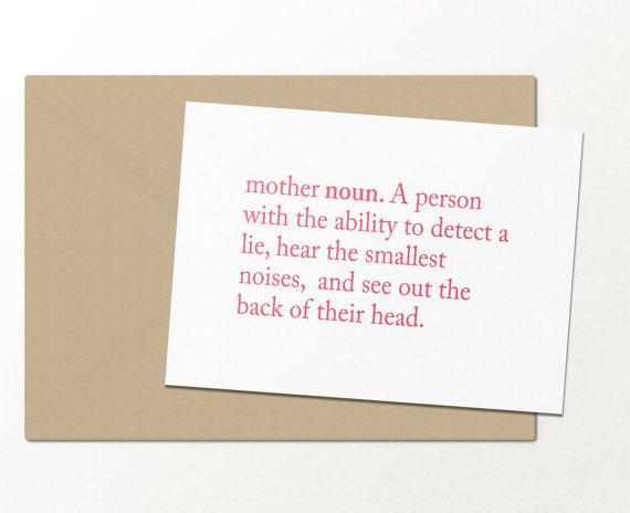 Mother definition funny greeting card mothers day card mother definition funny greeting card mothers day card m4hsunfo