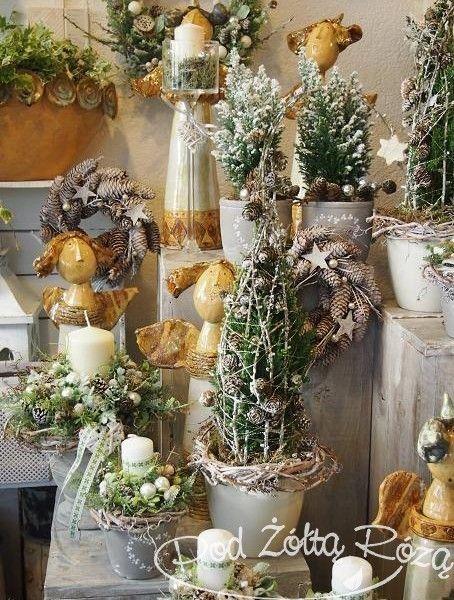 """Blog Kwiaciarni """"Pod Żółtą Różą"""" » Boże Narodzenie   Holiday decor, Christmas inspiration ..."""