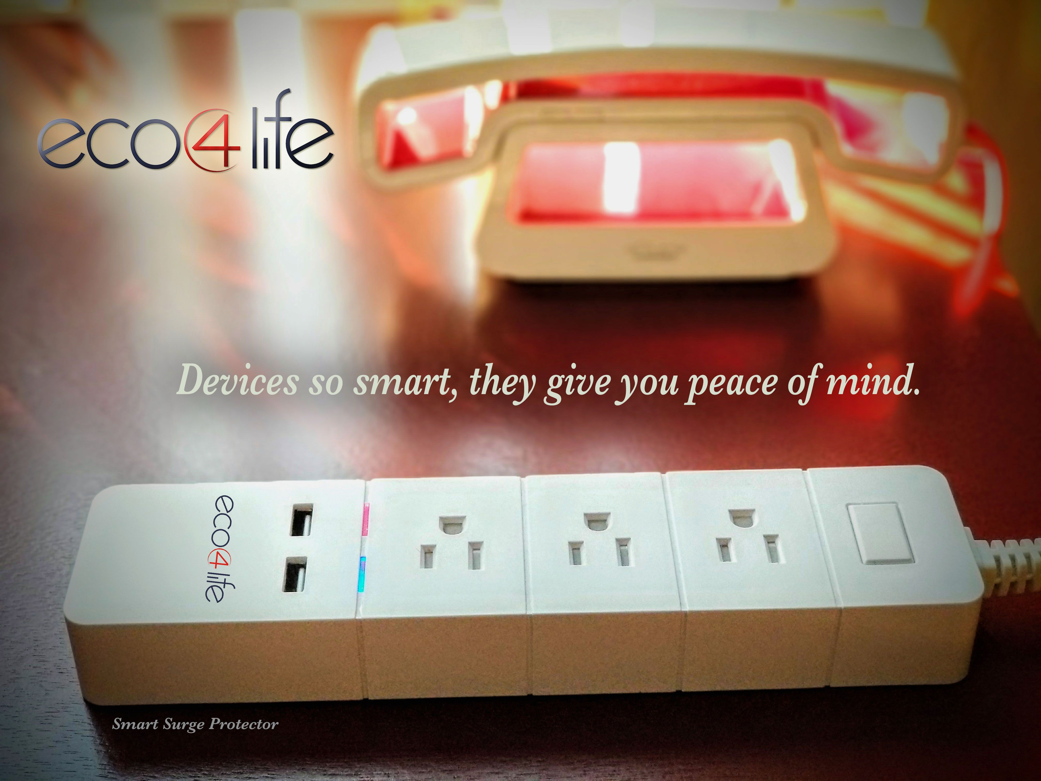Eco4life Smart Power Strip With Surge Protector Enables You To