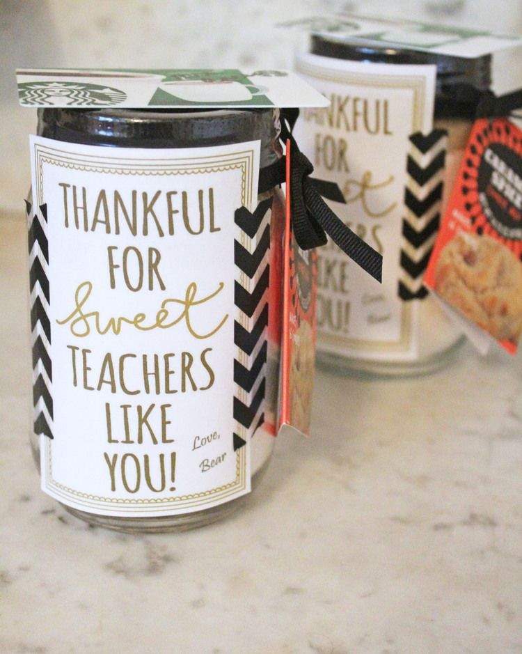 Thanksgiving Teacher Gift — Hello Honey