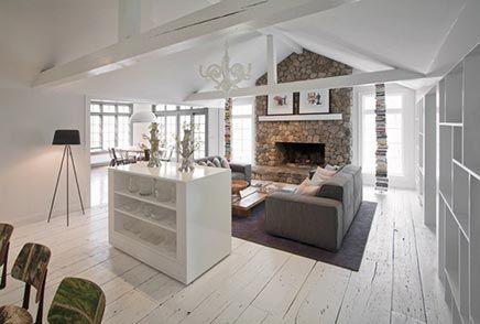Woonkamer ontwerp van Wilton Residence | Inrichting-huis.com | Attic ...
