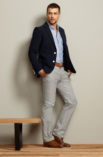 53355f77247 blazer work outfits men - Google Search. casual professional male ...