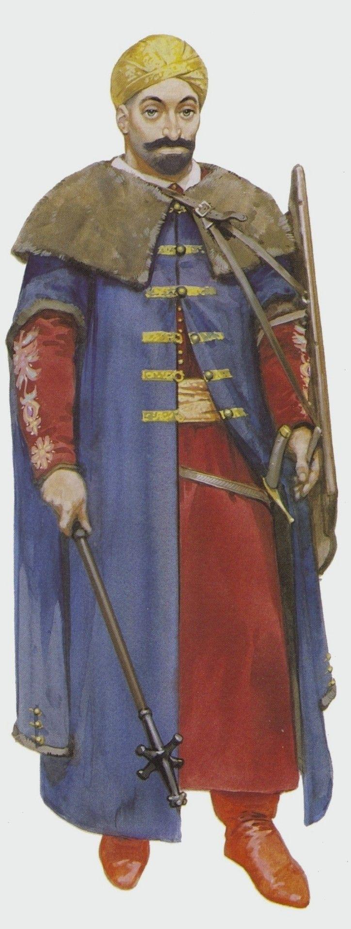 Влад Цепеш в турецком платье